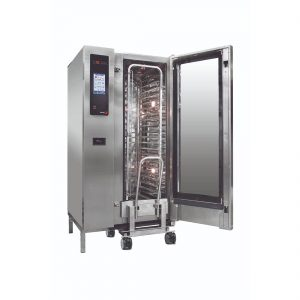 Fagor Advanced Plus Gas 20 Trays Touch Screen Control Combi Oven with Cleaning System - APG-201