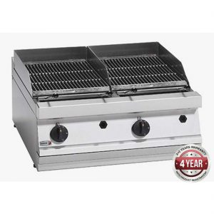 Fagor 700 series - Gas charcoal 2 grid grill BG7-10