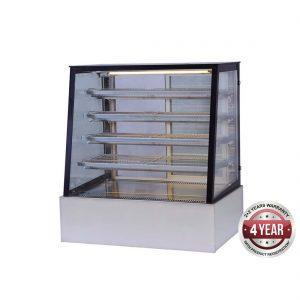 H-SLP830C Bonvue Deluxe Heated Display Cabinet 900x800x1350