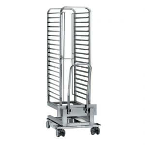 Loading trolley for trays - CEB-202