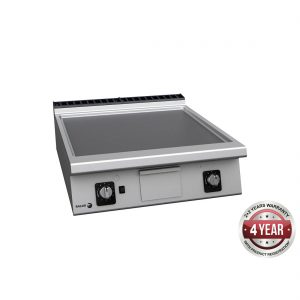 900 series natural gas chrome 2 zone fry top - FT-G910CL
