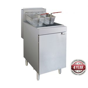 RC400E - Superfast Natural Gas Tube Fryer