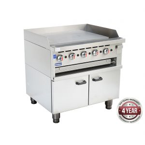 GGS-36 Gas Griddle and Gas Toaster with Cabinet