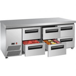 Lowboy Refrigerated Benches