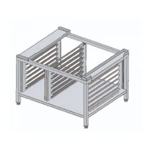 Fagor Stand with 12 sets of guides to hold 1/1GN & 2/1GN trays - SH-102-B