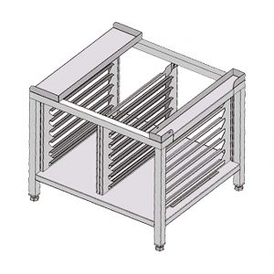 Fagor Stand with 12 sets of guides to hold 1/1GN trays - SH-11-B