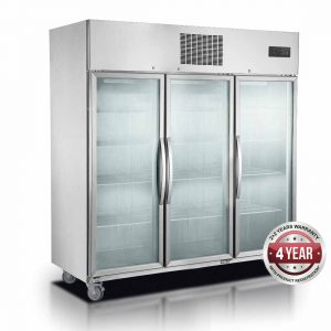 Commercial Display Freezers Upright One Two and Three Door