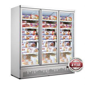 Supermarket Upright Display Door Freezers