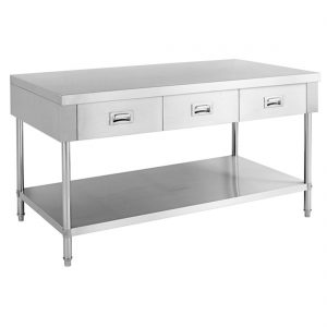 SWBD-6-1500 Work bench with 3 Drawers and Undershelf