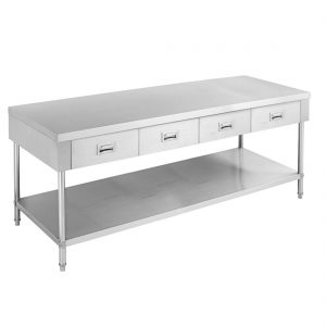 SWBD-6-1800 Work bench with 4 Drawers and Undershelf