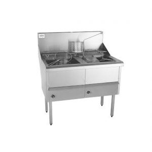 Gas Fish and Chips Fryer - WFS-2/18