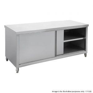 Kitchen Tidy Pass-Thru Workbench Cabinet 600mm Deep